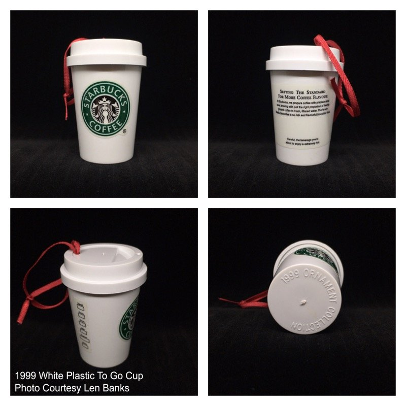 1999 White Plastic To Go Cup Image