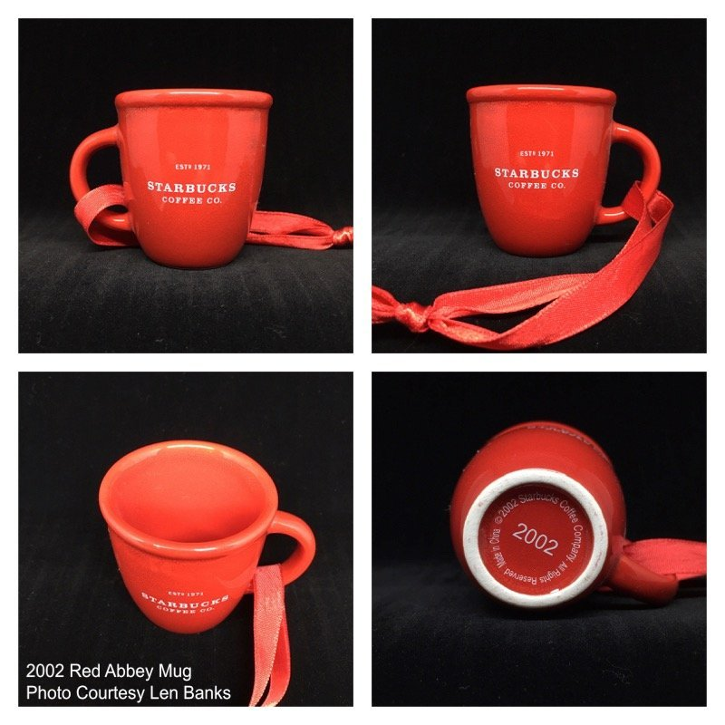 2002 Red Abbey Mug Image