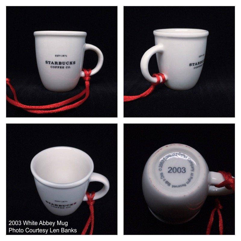 2003 White Abbey Mug Image