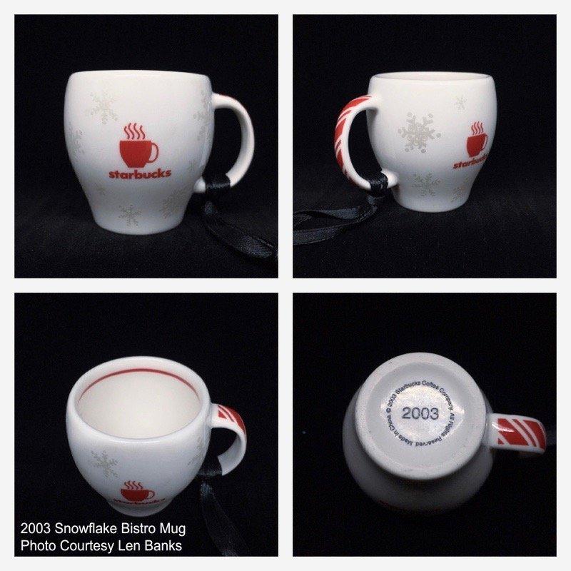 2003 Snowflake Bistro Mug Image