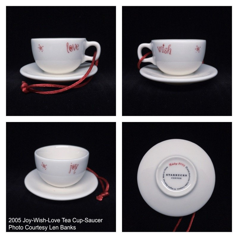 2005 Joy-Wish-Love Cup-Saucer Image
