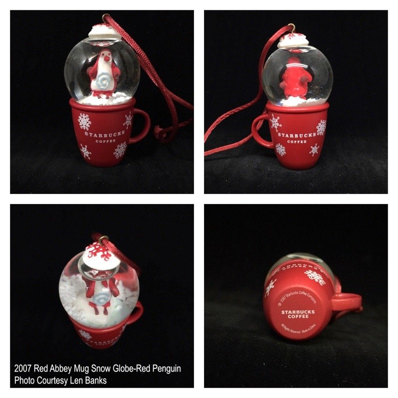 2007 Red Mug-Red Penguin Image