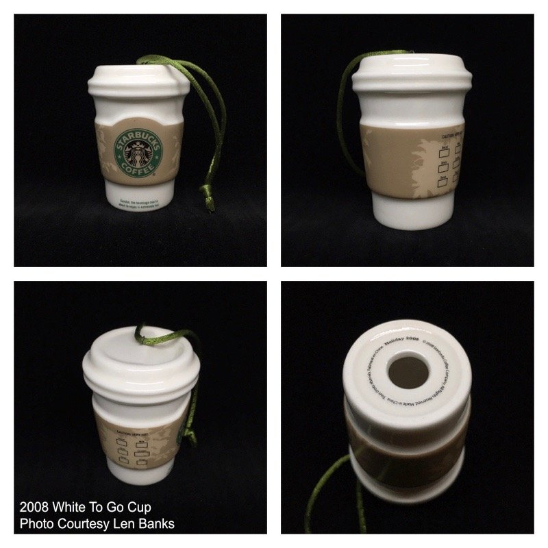 2008 White To Go Cup; with sleeve Image