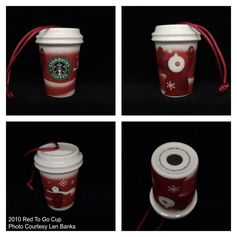2010 Red To Go Cup; Carolers Image