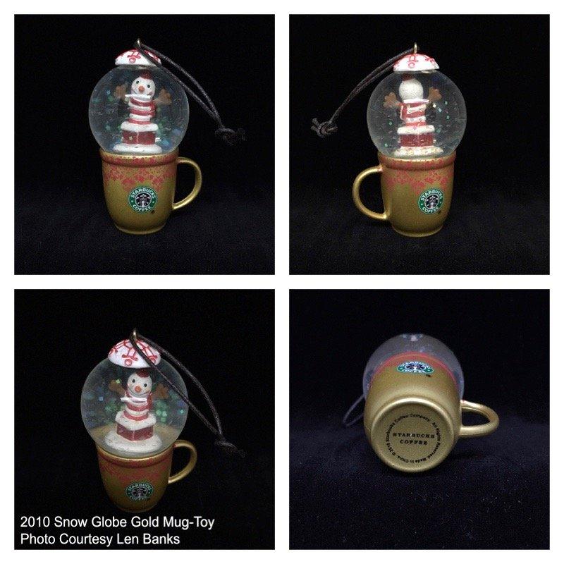 2010 Snow Globe Gold Mug-Toy Image