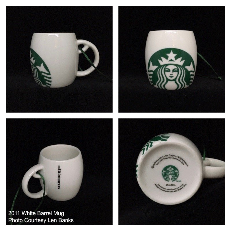 2011 White Barrel Mug Image