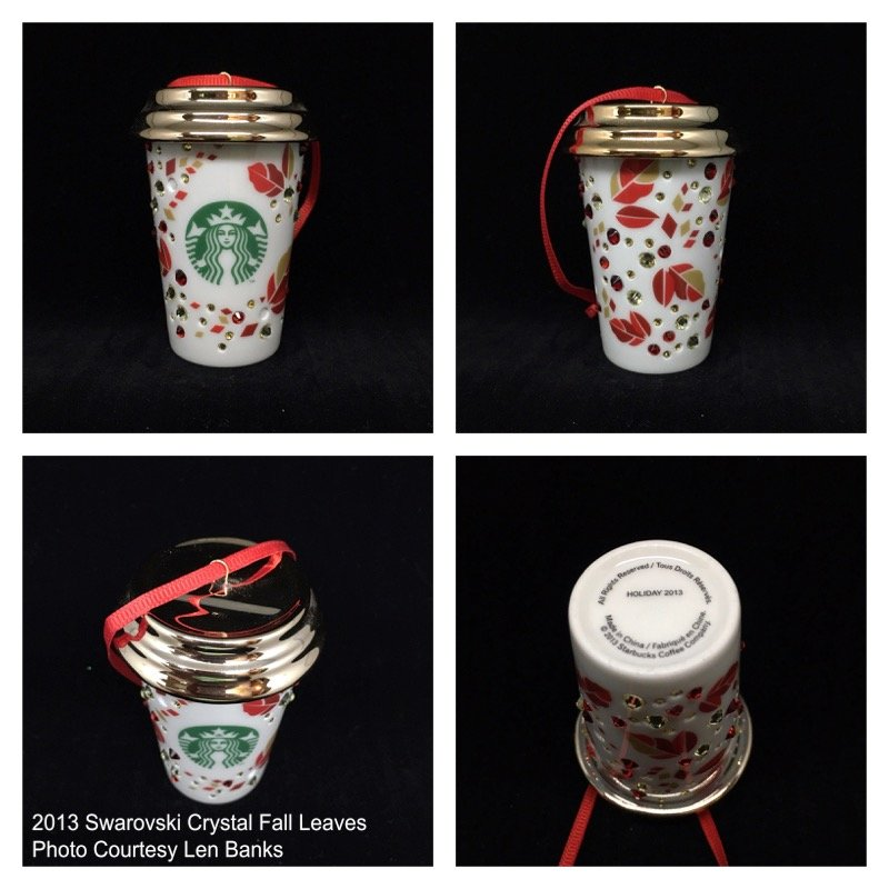 Starbucks Ornaments
