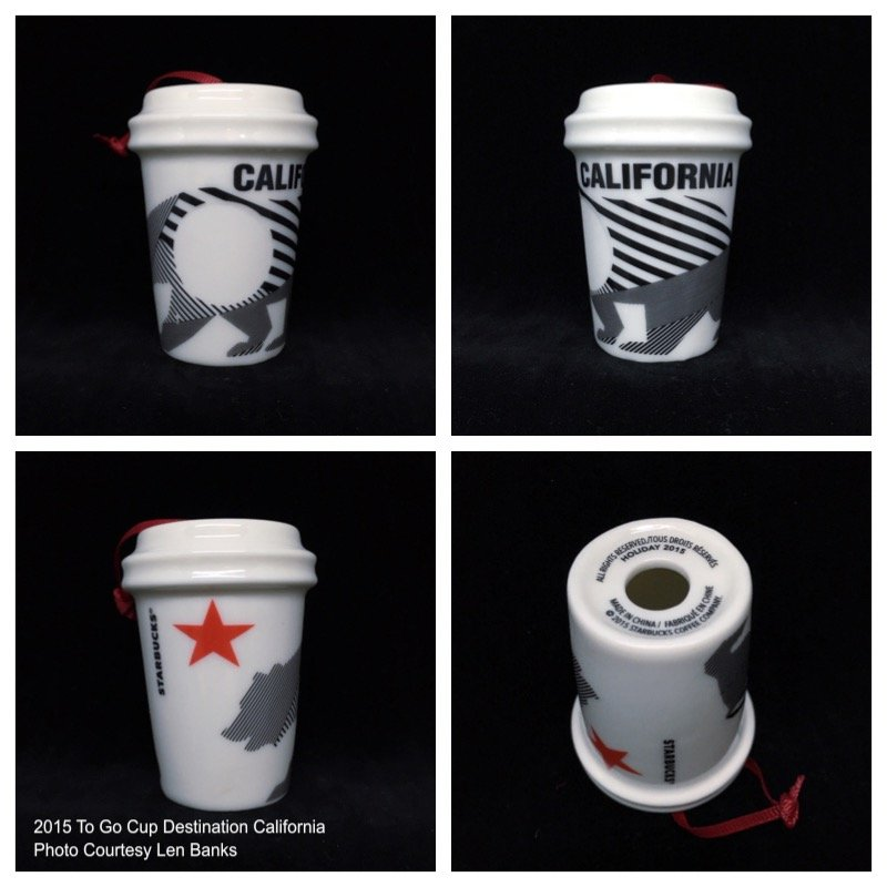 Starbucks Ornament Destination Series