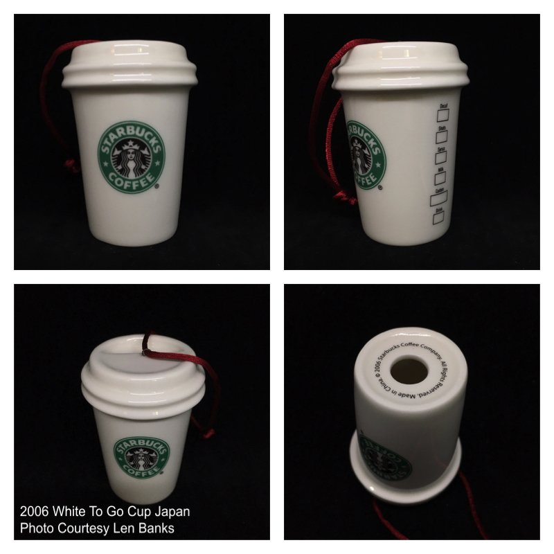 2007 White To Go Cup Asia (Sold in 2-pack, dated 2006) Image