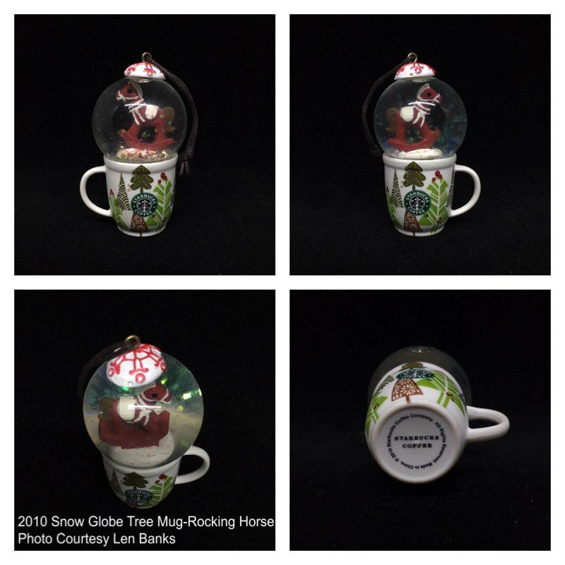 Starbucks Ornament Snow Globe