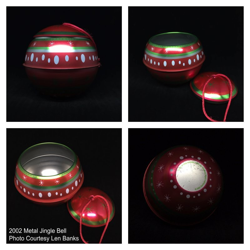 2002 Metal Jingle Bell Image