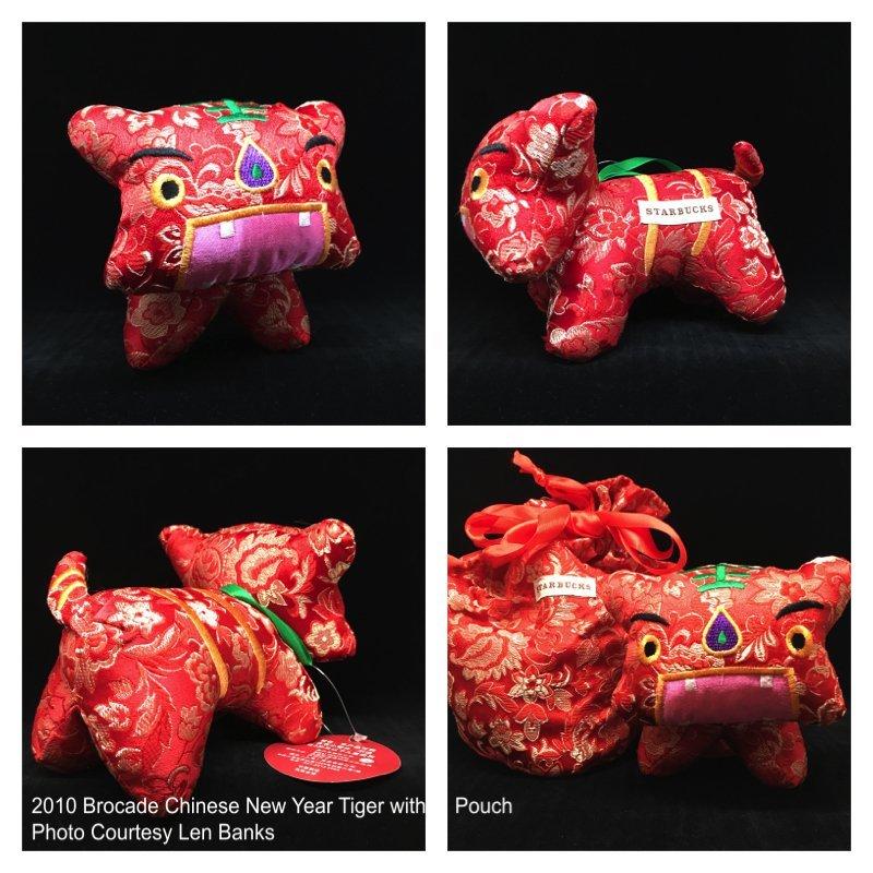 2010 Brocade Chinese New Year Tiger with Pouch Image