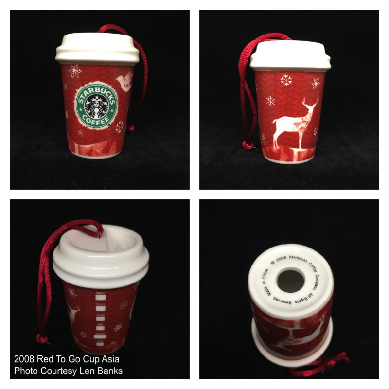 2008 Red To Go Cup Asia; Winter Deer Image