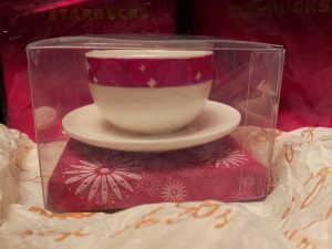 2006 Red Band Cup and Saucer Image