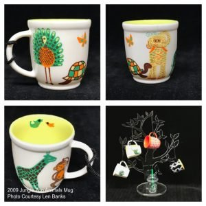 2009 Jungle Zoo Animals Mug Image