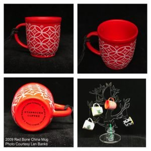 2009 Red Bone China Mug Image